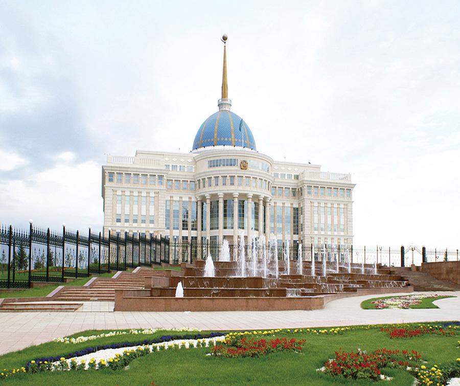 哈萨克斯坦总统府专用电梯